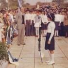 Σχολική γιορτή. Φωτογραφία από το αρχείο του Α. Φαράντου (2001)