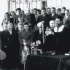 Εγκαίνια του 1ου Δημοτικού Σχολείου Ελευθερίου Κορδελιού Θεσσαλονίκης (1958)